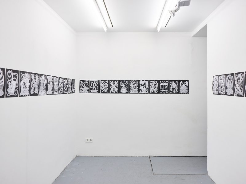 Cozy Catastrophe - Arnar Ásgeirsson and Agata Mickiewicz,<br /> Haus1 Berlin, 2019<br /> Courtesy of in-conversation-with / © in-conversation-with 2019