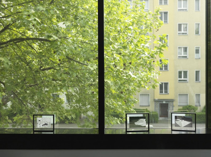 Emma Waltraud Howes<br /> Subtle Architectures, 2007 - ongoing<br /> 3 altered photographs,15 x 19 cm, 16,3 x 21,3 cm, 16,3 x 21,3 cm (framed)<br /> Photo: Jens Ziehe