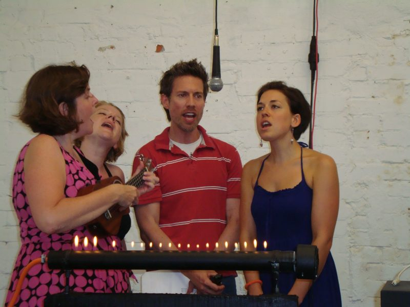 Babette and the Berlin Pop Choir, Infernoesque, opening Event on 27 July 2012, 7 - 10pm, Berlin