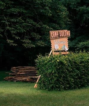 Dafna Maimon and Ethan Hayes-Chute, CAMP SOLONG, Garden of Kunstverein Braunschweig, 19-21 of August 2016
