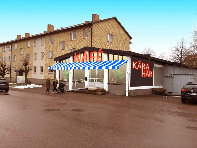 KÄRAHÄR's new hub for textile and ceramic production, including a cafe and much more.