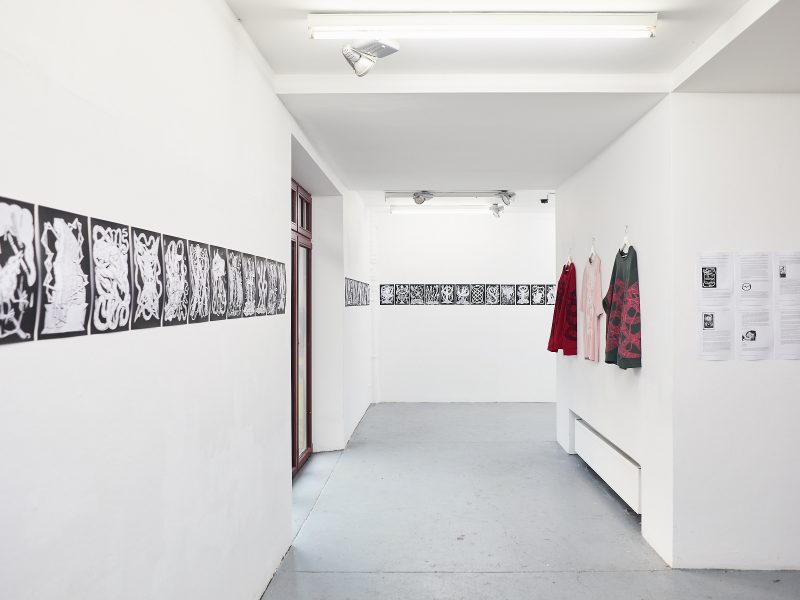 Cozy Catastrophe - Arnar Ásgeirsson and Agata Mickiewicz, <br /> Haus1 Berlin, 2019<br /> Courtesy of in-conversation-with / © in-conversation-with 2019